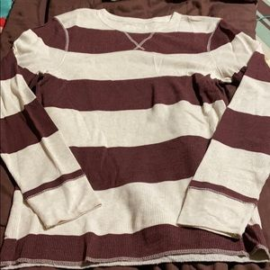 Men's Pullover Waffle Shirt. NWOT!